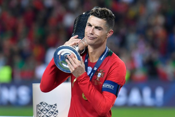 Only Ronaldo could act like another title doesn't really matter. Image: PA Images