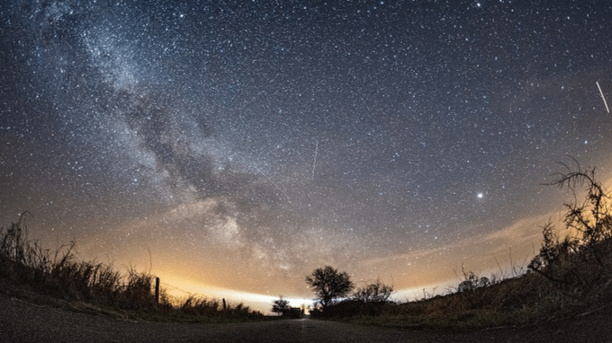 A Meteor Shower Will Light Up The Sky Tonight  Heres How