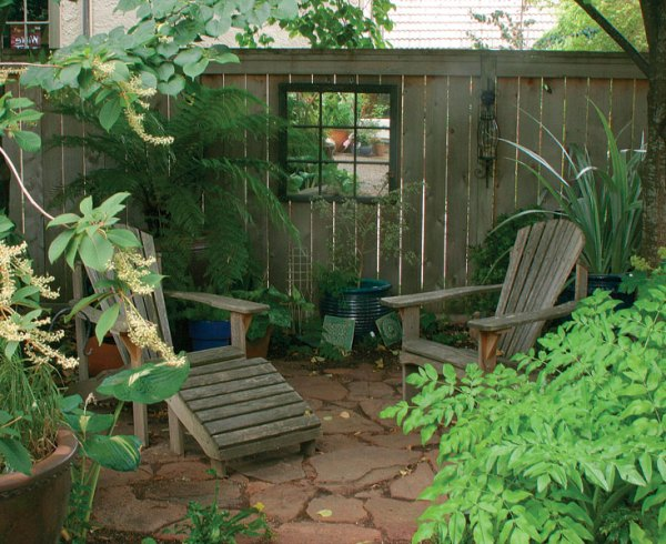 seating areas simple - finegardening