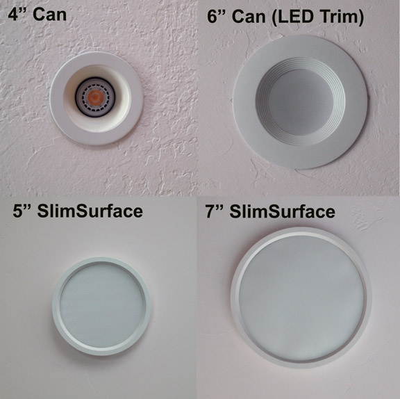canned lighting conundrum