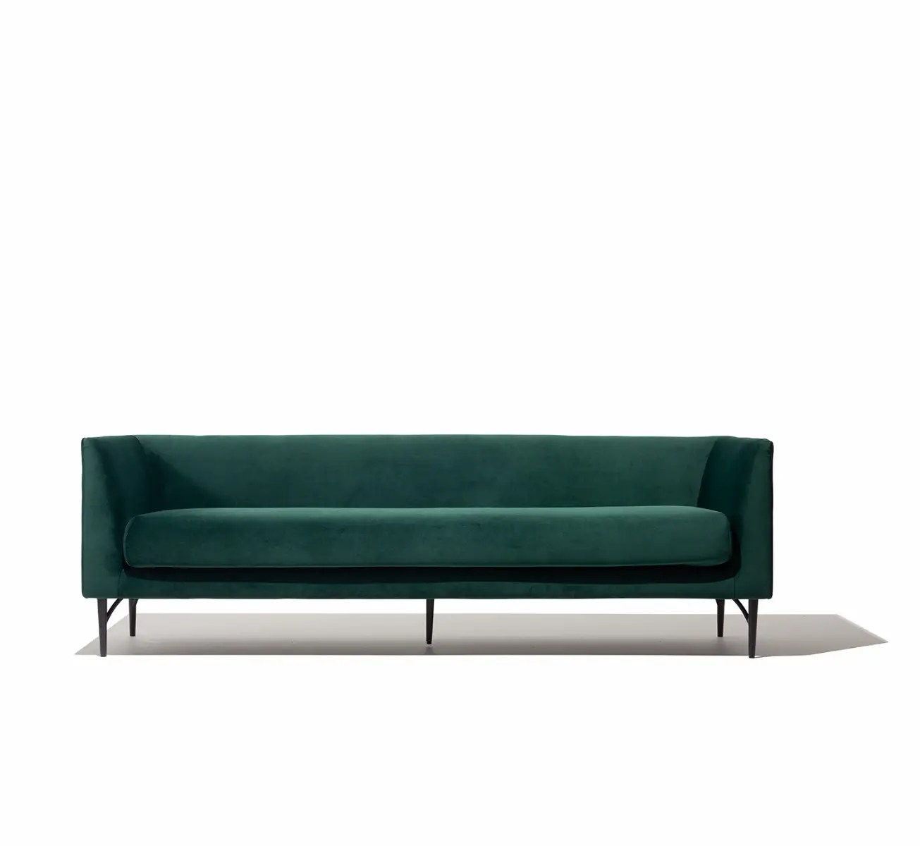 dune sofa pewter gray leather