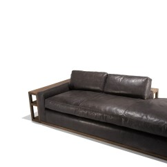 Leather Sofa Cleaning Repair Company Hay Mags Dimensions Packard