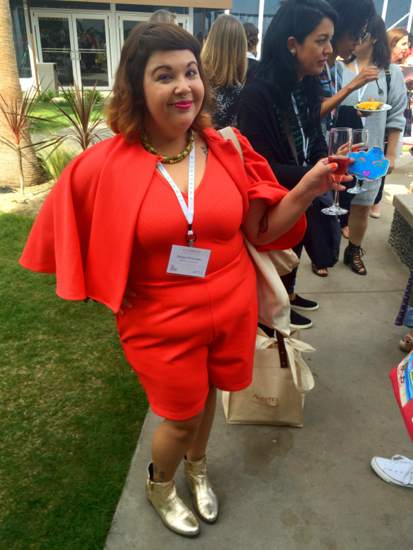 Fashion blogger at We All Grow Summit 2016