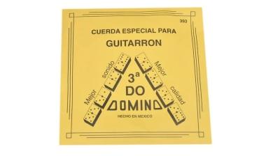 CUERDA DOMINO PARA GUITARRON, 3A., NYLON DELGADO MOD 393(12)