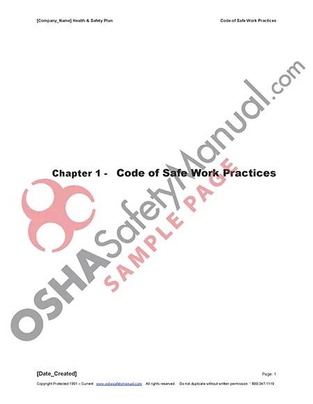 Osha Safety Manual | 02
