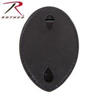 beta Rothco Leather Clip-on Badge Holder