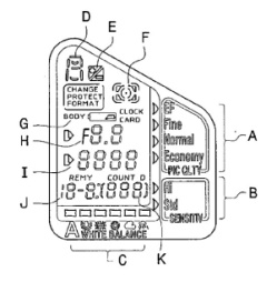Nikon patents strange LCD screen