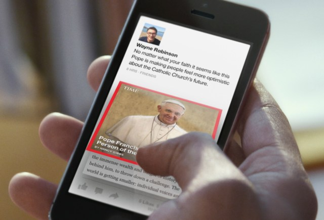 Instant Articles borrows from the branded article covers pioneered in Facebook Paper