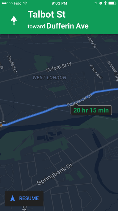 Google Maps Night Mode Feature Makes It Easier To