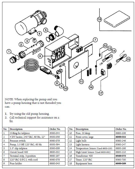 Sundance Hot Tub Parts Diagram