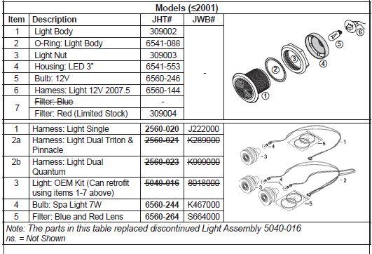 jacuzzi light wiring diagram