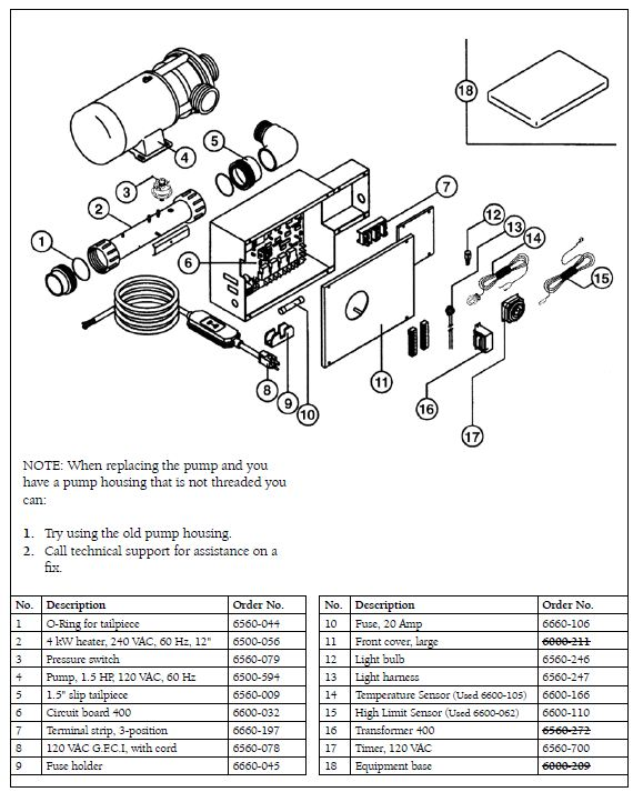 Spa Pump: Ultra Jet Spa Pump Manual