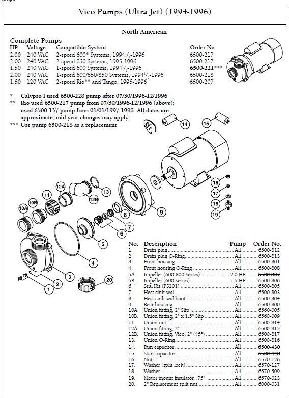 ultrajet pump wiring