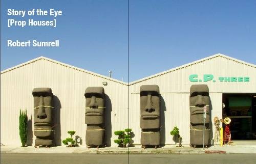 fake easter island heads at prop house