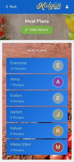 Custom Allergy Profiles - Kalyan App - Stress-Free Food Allergy Management