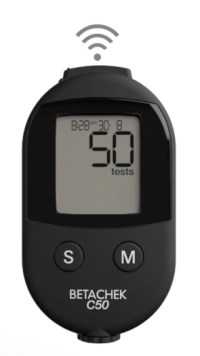 BETACHEK® C50 blood glucose meter