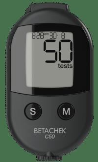 BETACHEK® C50 blood glucose meter