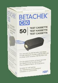 BETACHEK C50 Testkassette