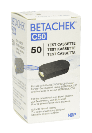 Blutzucker Testkassette