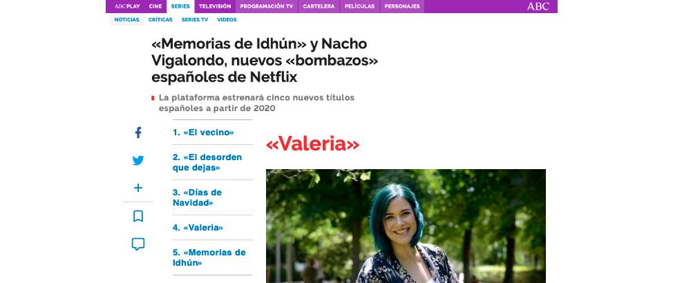 «Memorias de Idhún» y Nacho Vigalondo, nuevos «bombazos» españoles de Netflix