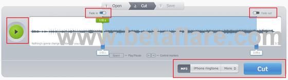在線mp3音頻剪切,制作手機鈴聲工具Mp3cut-軟件玩家