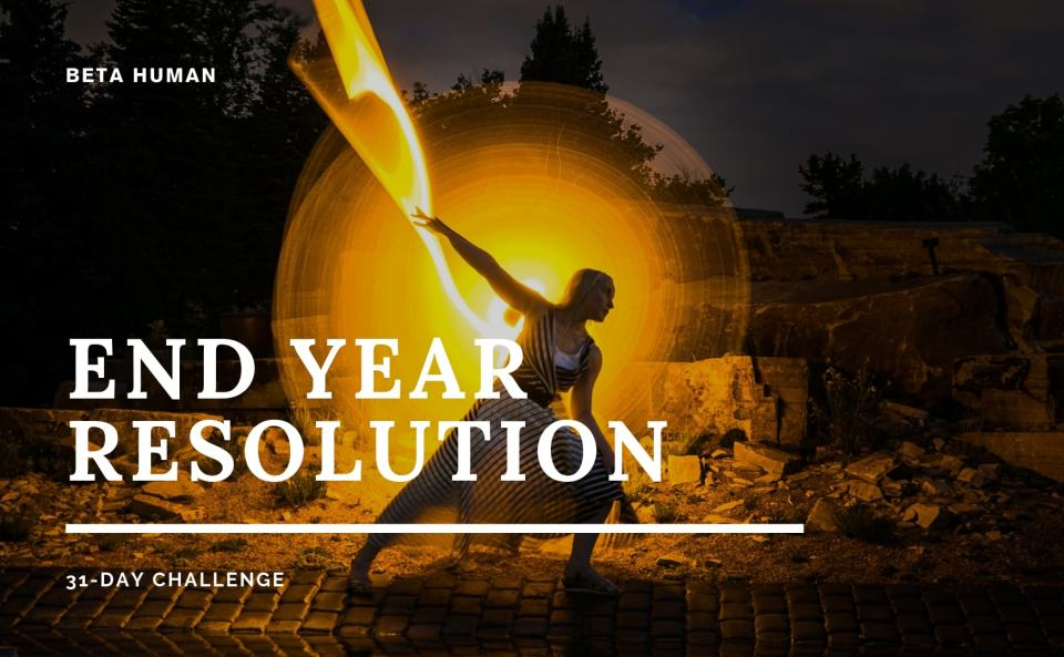 The 2018 End Year Resolution Challenge