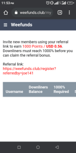 weefunds.Club referral and Weefunds