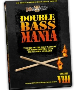 speed metal, deathcore, death, tech metal, djent drum loops - Double Bass Mania VIII
