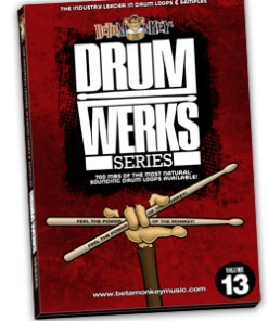 Drum Werks XIII: Drum Loops for Funk, Funk-Rock, R&B, Soul