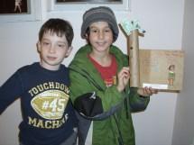 3rd & 6th Grade Tu 'shevat Recycling Art Project Feb