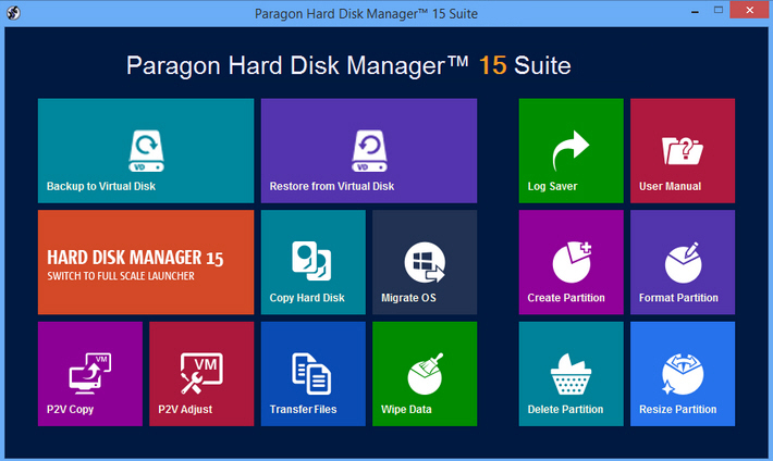 Paragon Hard Disk Manager Suite 15 Review