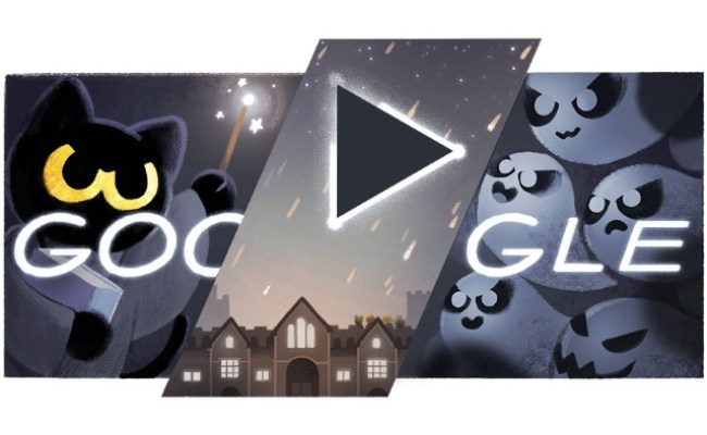 Today S Ghostly Google Doodle Is A Harry Potter Inspired
