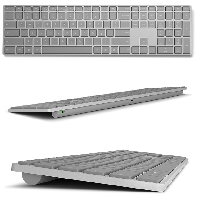 "MSKBFPHELLO  Microsoft has released a ""Modern Keyboard with Fingerprint ID"" MSKBFPHELLO"