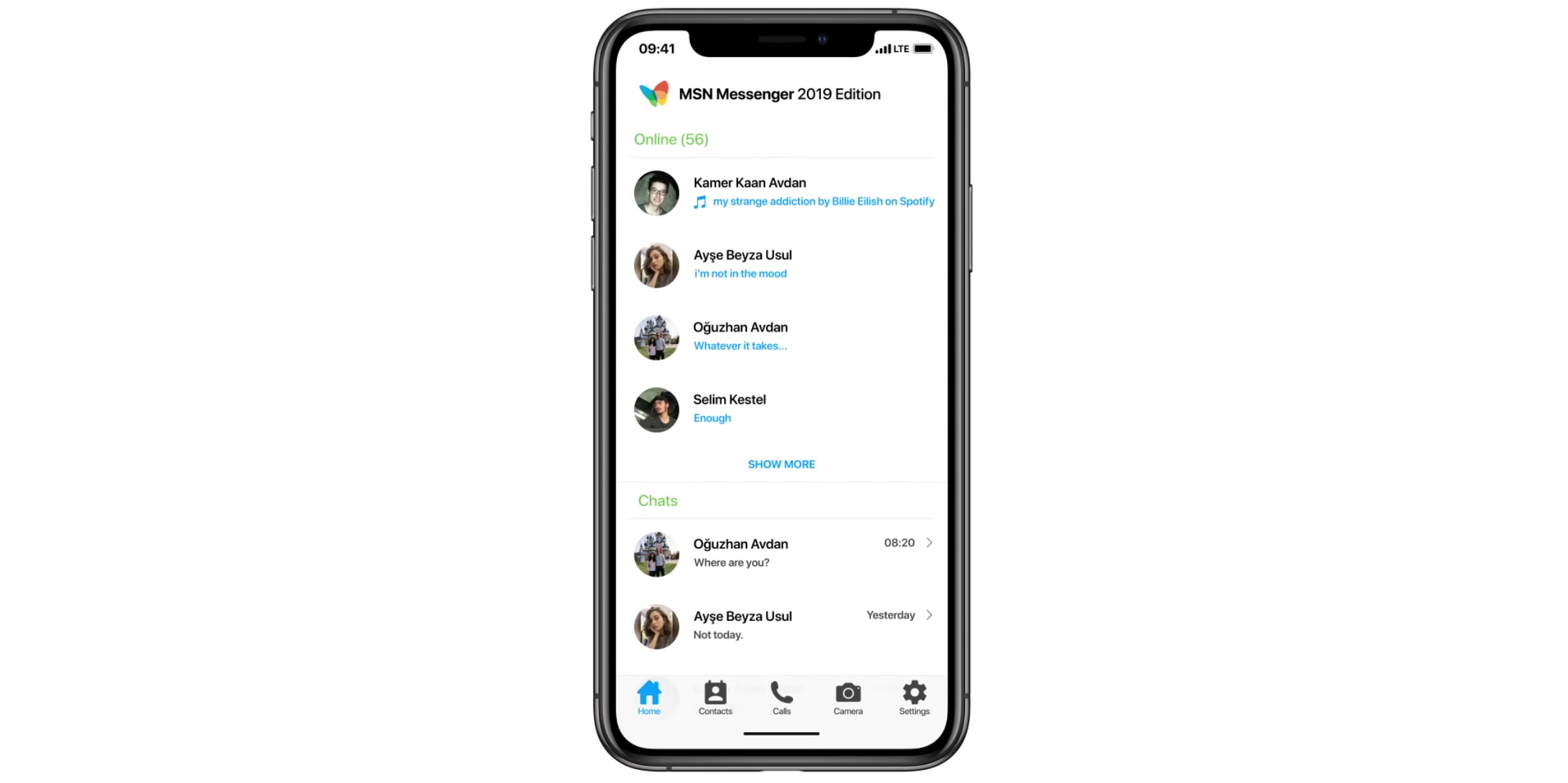 Msn Messenger Edition Is The Messaging App You Didn T