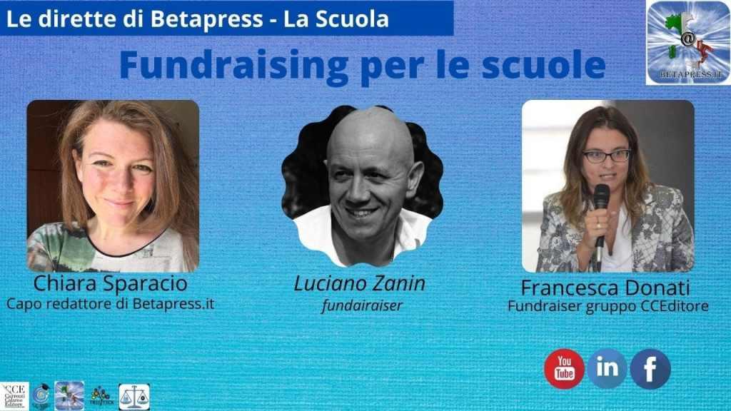 fundraising per le scuole