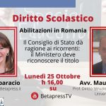 Abilitazioni in Romania – Il Consiglio di Stato dà ragione ai ricorrenti