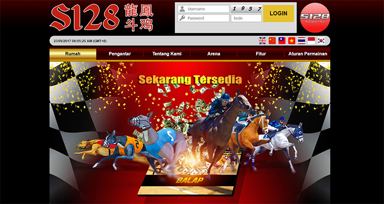 Website Judi Online S128, Sabung Ayam, Racing, Sportsbook
