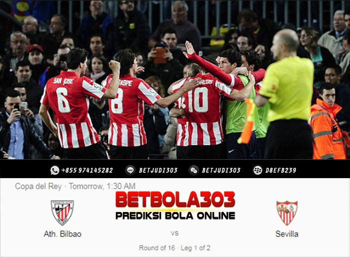 Prediksi Bola Athletic Bilbao vs Sevilla 11 Januari 2019