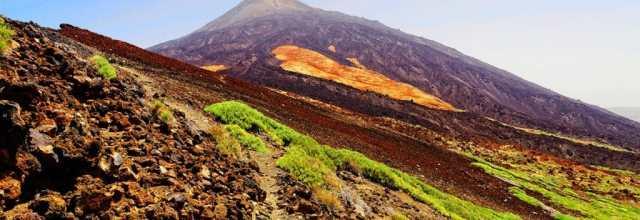 photo Tenerife, teide, trekking