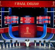 όμιλοι Παγκόσμιου κυπέλλου Mundial 2018
