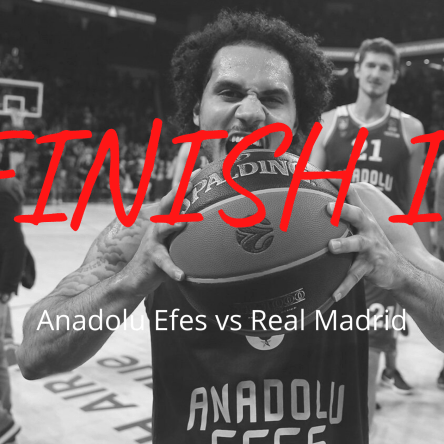 Anadolu Efes vs Real Madrid