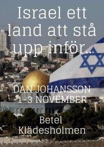 Bibelstudium om Israel med Dan Johansson