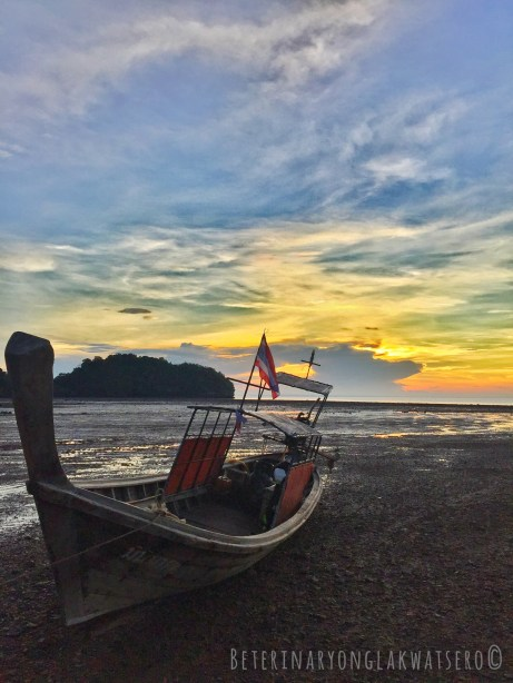 Sunrise at Railay East