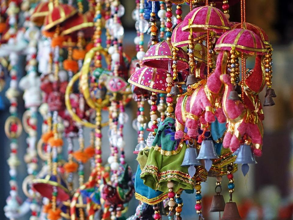 Decorative Singapore Indian Little India Colorful