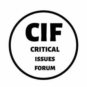 Critical Issues Forum: Advocacy for Social Justice