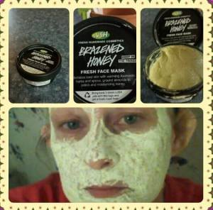 Lush's Brazened Honey Face mask