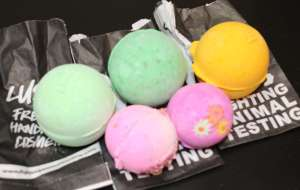 Lush's Bath Bombs