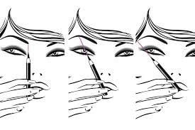 Brow Shaping Example 4