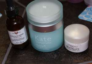 Beth and Beauty's Morning Face Routine Serums & Moisturizing Products