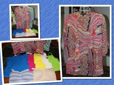 JC Penney Fashion Haul Collage